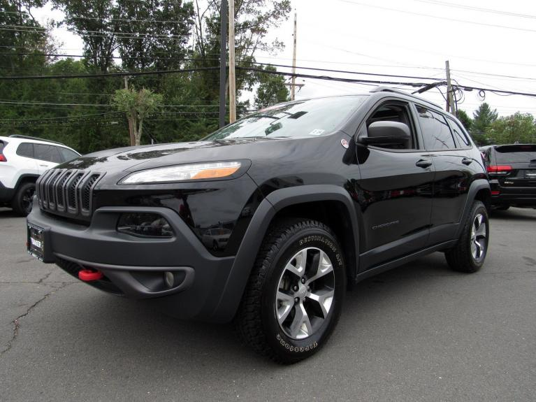 Used 2018 Jeep Cherokee Trailhawk for sale Sold at Victory Lotus in Princeton NJ 08540 4