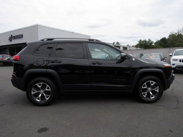Used 2018 Jeep Cherokee Trailhawk for sale Sold at Victory Lotus in Princeton NJ 08540 8