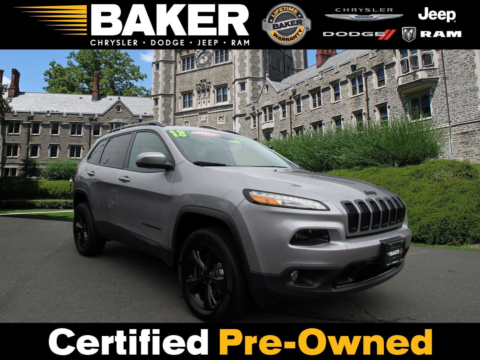 Used 2018 Jeep Cherokee Limited for sale $28,995 at Victory Lotus in Princeton NJ 08540 1