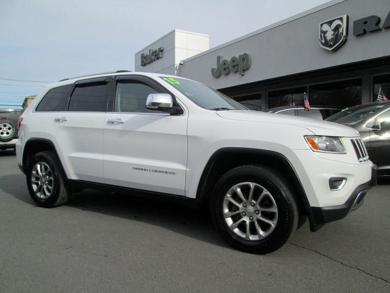 Used 2015 Jeep Grand Cherokee Limited for sale Sold at Victory Lotus in Princeton NJ 08540 2