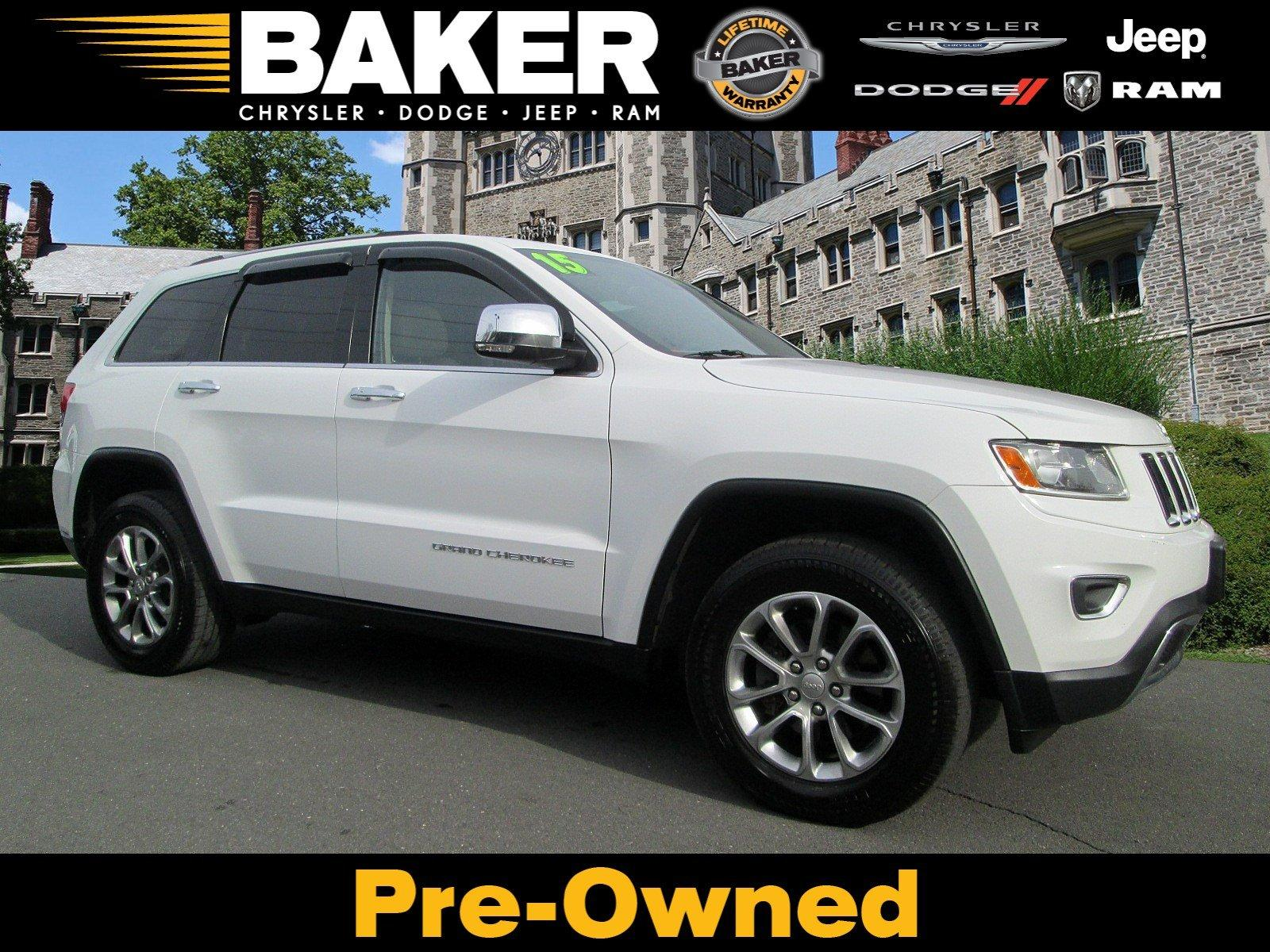 Used 2015 Jeep Grand Cherokee Limited for sale Sold at Victory Lotus in Princeton NJ 08540 1