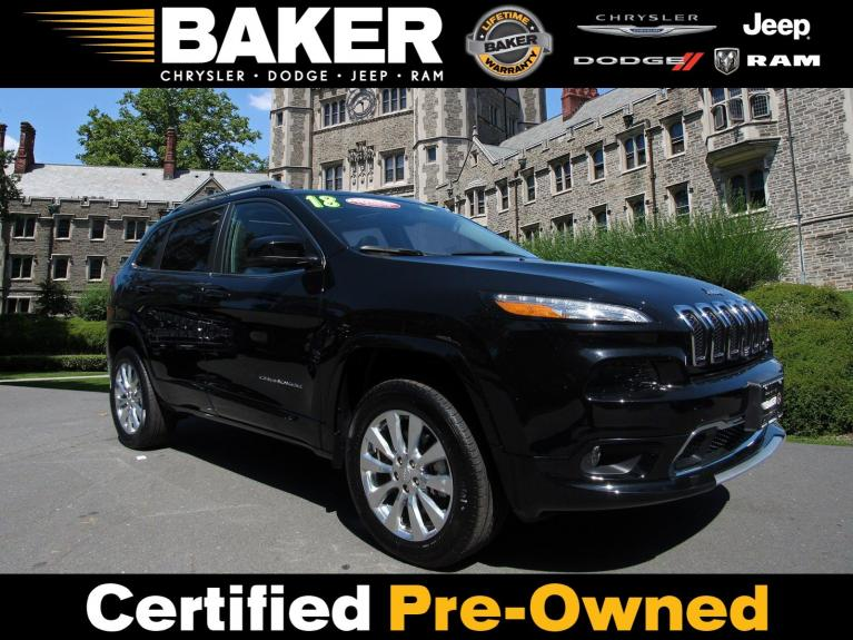 Used 2018 Jeep Cherokee Overland for sale $28,995 at Victory Lotus in Princeton NJ