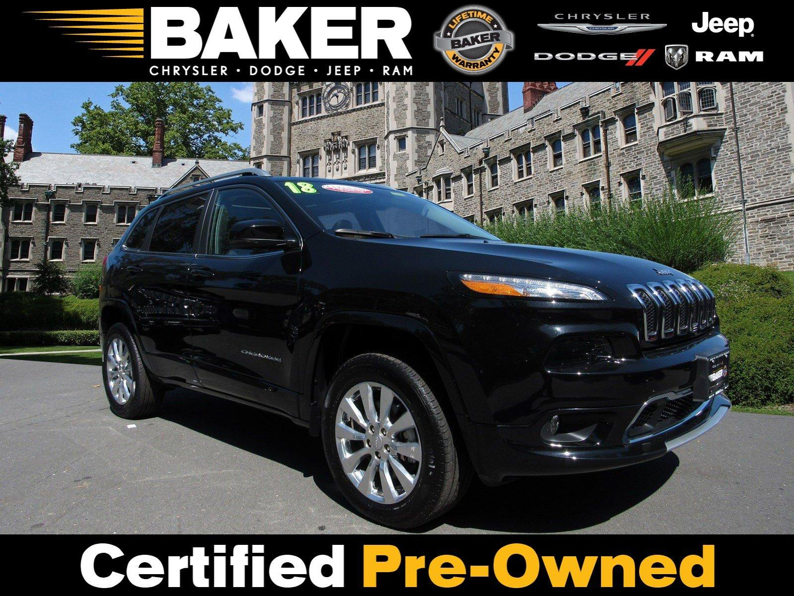 Used 2018 Jeep Cherokee Overland for sale Sold at Victory Lotus in Princeton NJ 08540 1