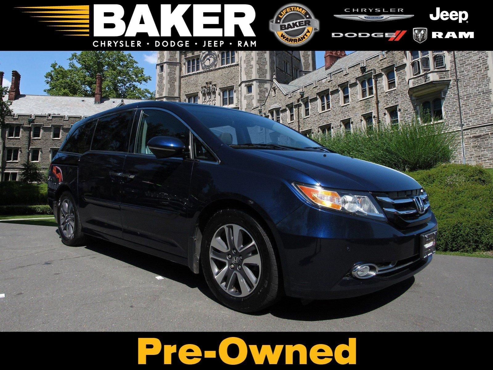 Used 2015 Honda Odyssey Touring for sale Sold at Victory Lotus in Princeton NJ 08540 1