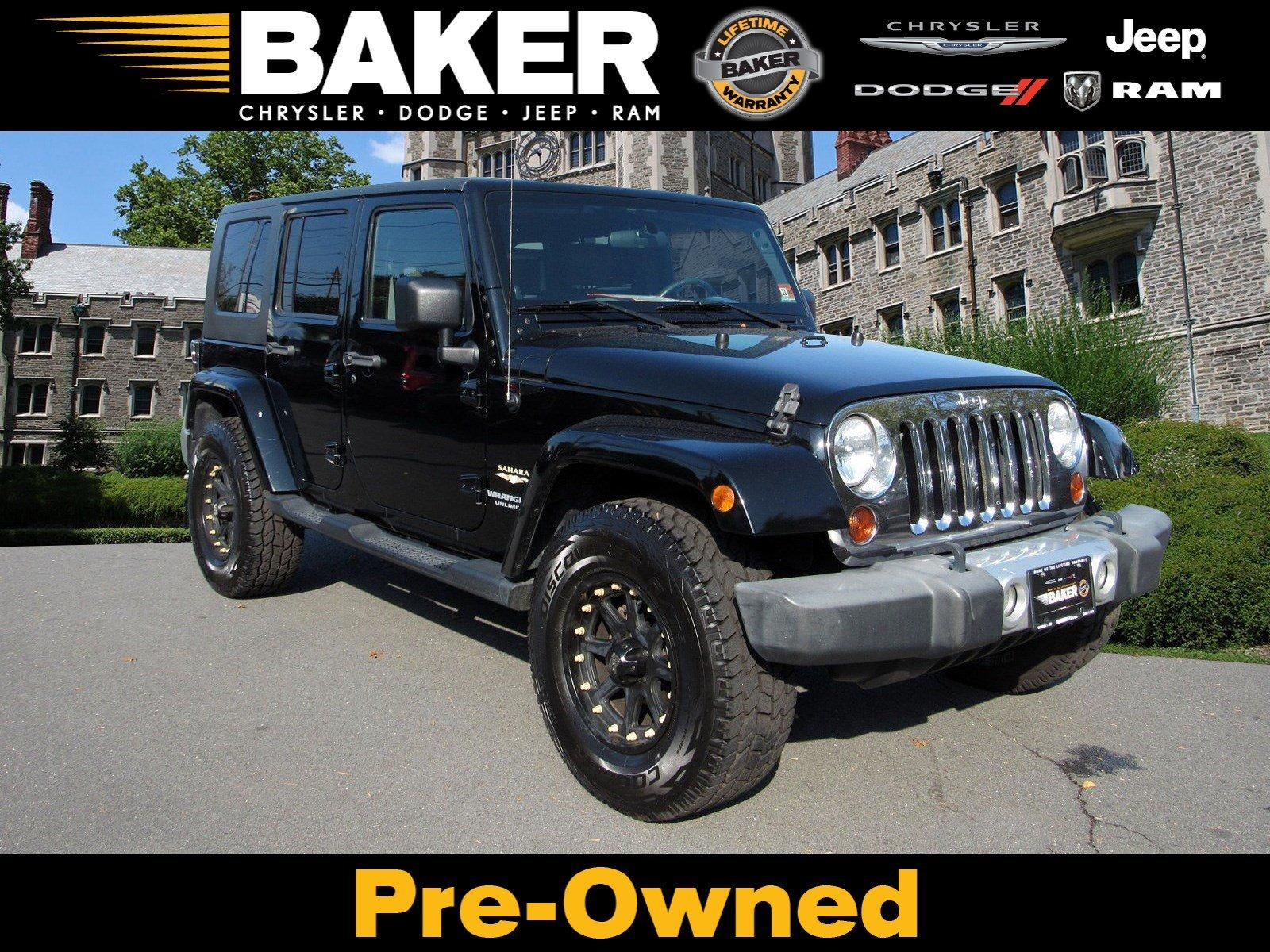 Used 2009 Jeep Wrangler Unlimited Sahara for sale Sold at Victory Lotus in Princeton NJ 08540 1