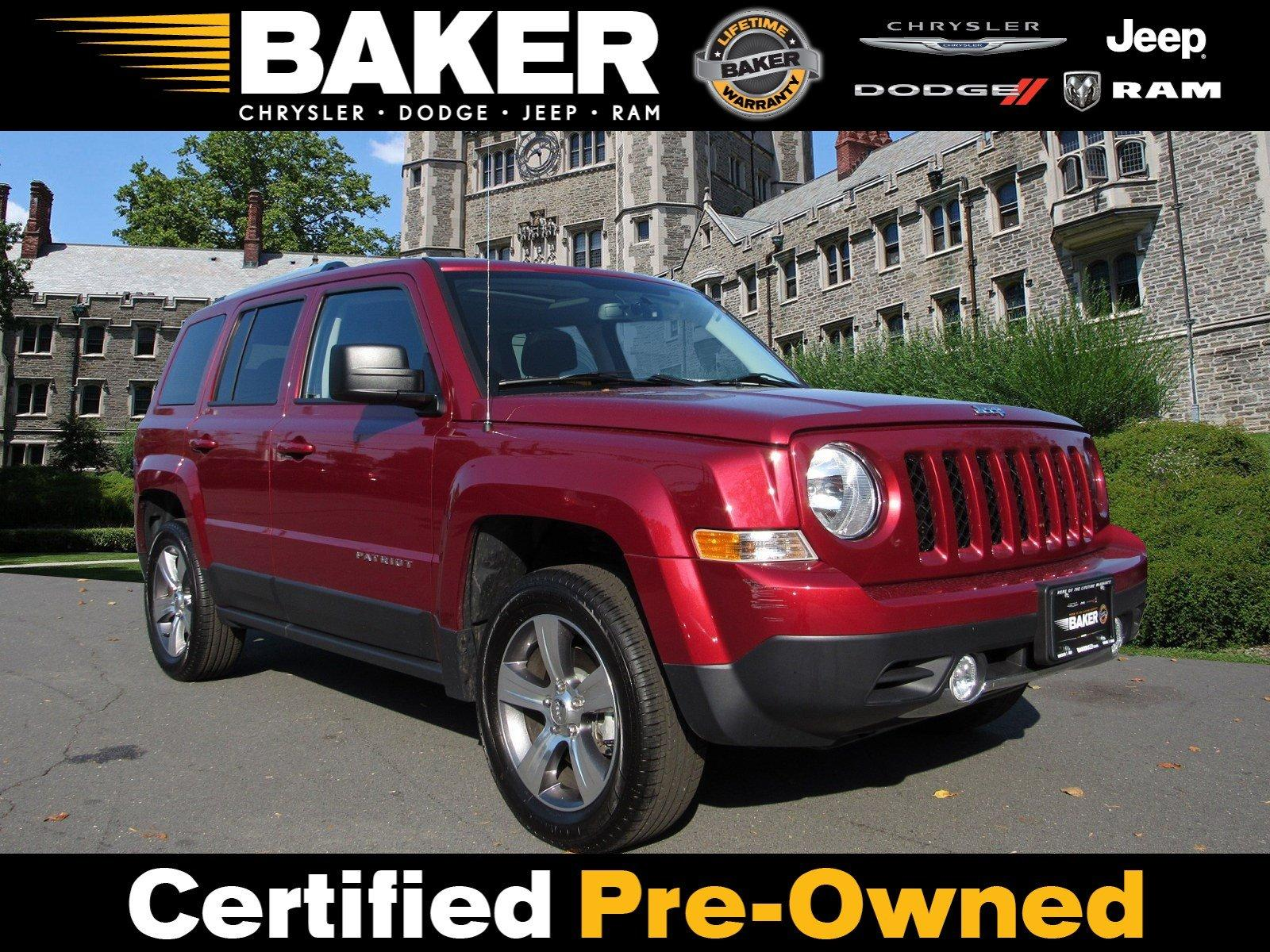 Used 2017 Jeep Patriot High Altitude for sale Sold at Victory Lotus in Princeton NJ 08540 1