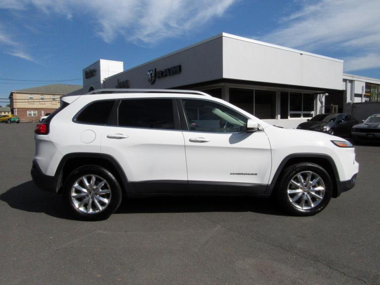 Used 2014 Jeep Cherokee Limited for sale Sold at Victory Lotus in Princeton NJ 08540 8