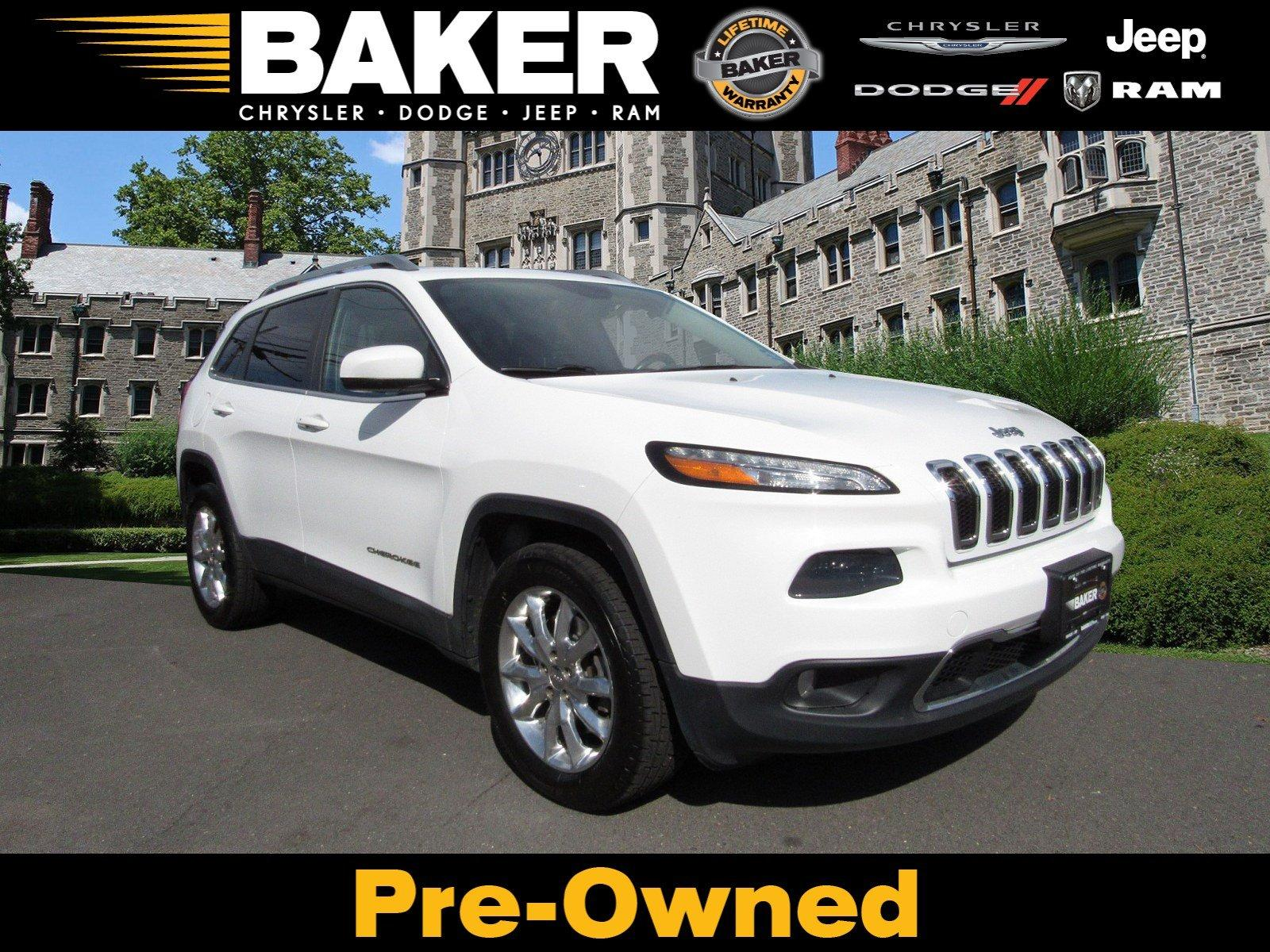 Used 2014 Jeep Cherokee Limited for sale Sold at Victory Lotus in Princeton NJ 08540 1