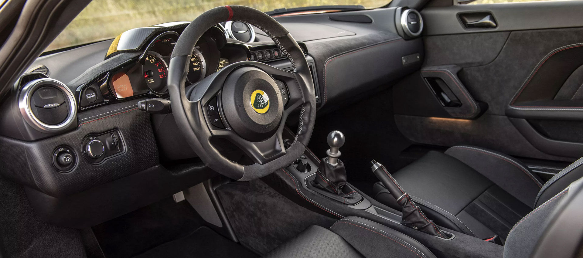 2020 Lotus Evora GT Interior